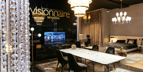 10 заповедей дизайна VISIONNAIRE: открытие салона в CASA RICCA EXPO