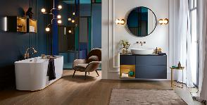 Практичные и стильные решения организации хранения в ванной комнате от Villeroy & Boch