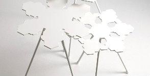 Снежинки и роботы Offecct