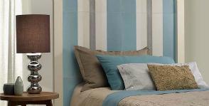 Керамическое изголовье кровати