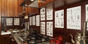 Кухонный фартук: материалы
