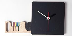Грифельные часы