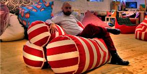 Первый диван от Smart Balls