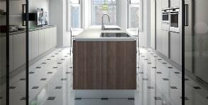 Кухонный минимализм Ernestomeda