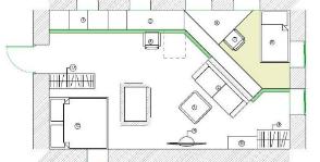 Интерьер дома с печкой: шесть проектов