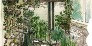 Однушка с зимним садом