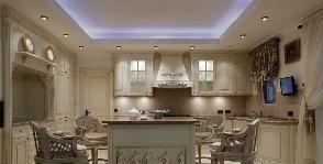 Декоративная подсветка на кухне