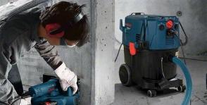 Знакомство со строительными пылесосами