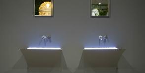 Раковина в стене от Antonio Lupi