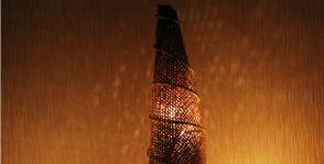 Новогодние украшения: «Светящаяся елка»