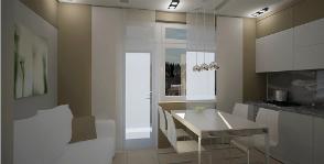 Как увеличить пространство маленькой кухни?