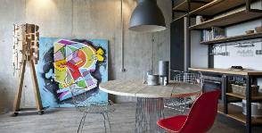 Как имитировать бетон: модные приемы создания стиля лофт в квартире