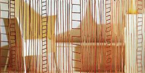 «Бамбуковые» шторы