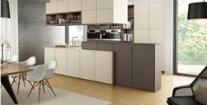 10идей зонирования кухни-гостиной