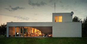 Польша: дом с атриумом на крыше