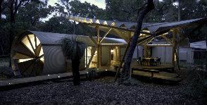 Австралия: дом в трубе