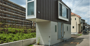 Токио: узкий дом