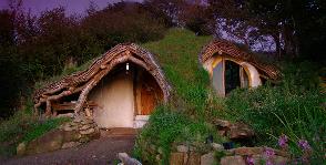 Уэльс: эко-дом под землей