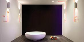 Освещение ванной: нормы и требования