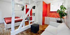 Париж: квартира 25 кв.м