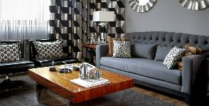 Четырёхкомнатная квартира в стиле американских интерьеров 70-х: проект Дарьи Широковой и Инги Аршба