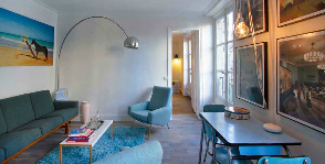 Париж: квартира 38 кв.м
