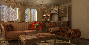 4-комнатная квартира в стиле классического модерна: проект Натальи Фарносовой