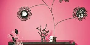 Декорируем стену тарелками