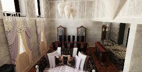 Двухуровневая квартира в стиле ар-деко: Проект Елены Зориной