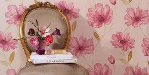 Вечно цветущие, вечно модные: обои в цветочек
