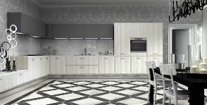 4 идеи: с чем может сочетаться пол на кухне?