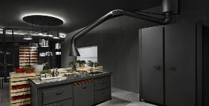 Лофт на кухне