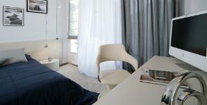 Спальня + кабинет