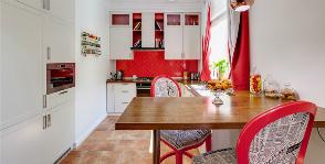 Cтоловая зона на кухне