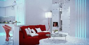 Квартира свободной планировки: дизайнер Наталия Васильева