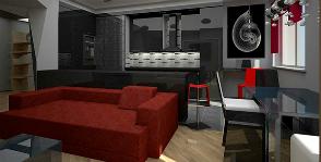 Квартира свободной планировки, превращенная в трешку: проект команды Анастасии Топоевой