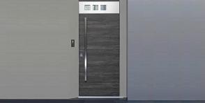 Варианты установки стальной входной двери