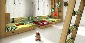 Малогабаритная двухуровневая квартира в Нью-Йорке: дизайнеры Арина Агеева и Дмитрий Жуйков