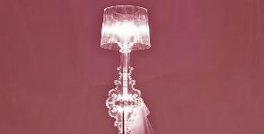 Kartell  отмечает 10-летие лампы Bourgie  Феручио  Лавиани