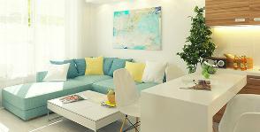 Квартира свободной планировки в новостройке: проект Антона Гришина