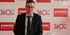 Пол как искусство.<br> Видео с выставки Domotex Russia 2014
