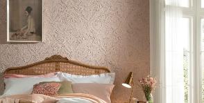 Lincrusta покрывает стены древесной мукой и льняным маслом
