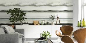Eco Wallpaper украшает стены батиком