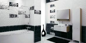 Черно-белый – тренд сезона от Cersanit