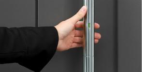 FSB: дверная ручка со сканером отпечатка пальцев