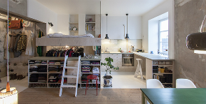 Стокгольм: квартира 36 кв. м