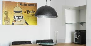 Квартира-студия с героями из «Футурамы»: дизайнер Сергей Бахарев