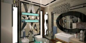 Ванная комната с современным шиком: дизайнер Ирина Тищенкова