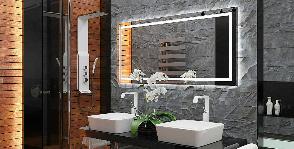 Роскошная ванная комната с использованием натурального гранита и тика: дизайнер Анна Бовтко
