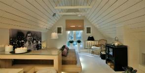 Стильный лофт на месте холодного чердака: дизайнер Екатерина Грачева